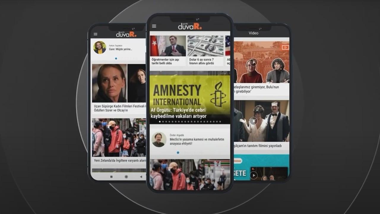 Gazete Duvar'ın mobil uygulaması yeni yüzüyle yayında