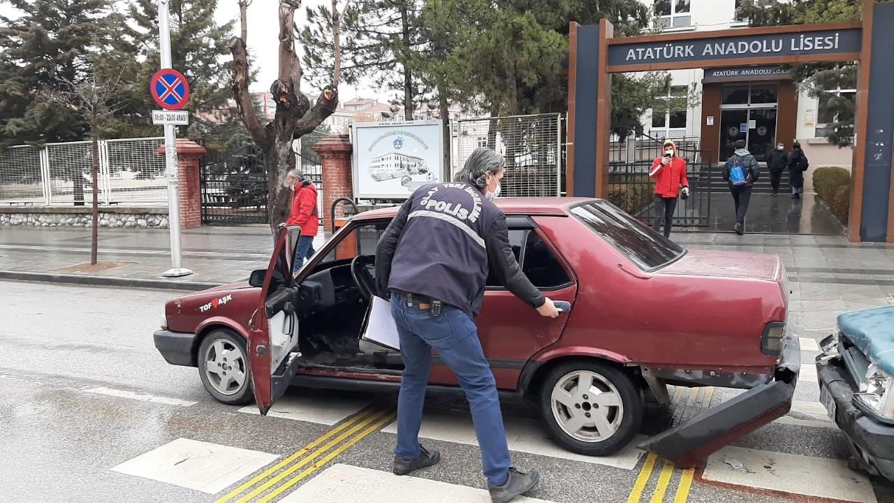 Çorum'da trafikte kadına silahlı saldırı