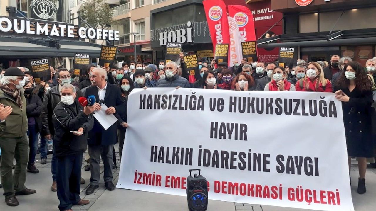 İzmir Emek ve Demokrasi Güçleri: Karanlığa teslim olmayacağız