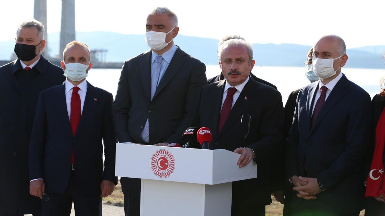 Şentop'un Gergerlioğlu ve parti kapatma savunması: Anayasada var