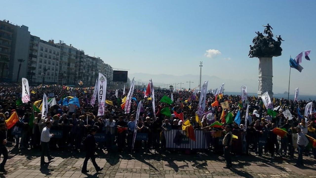 İzmir Gündoğdu Meydanı'nda Newroz kutlamasına izin çıktı