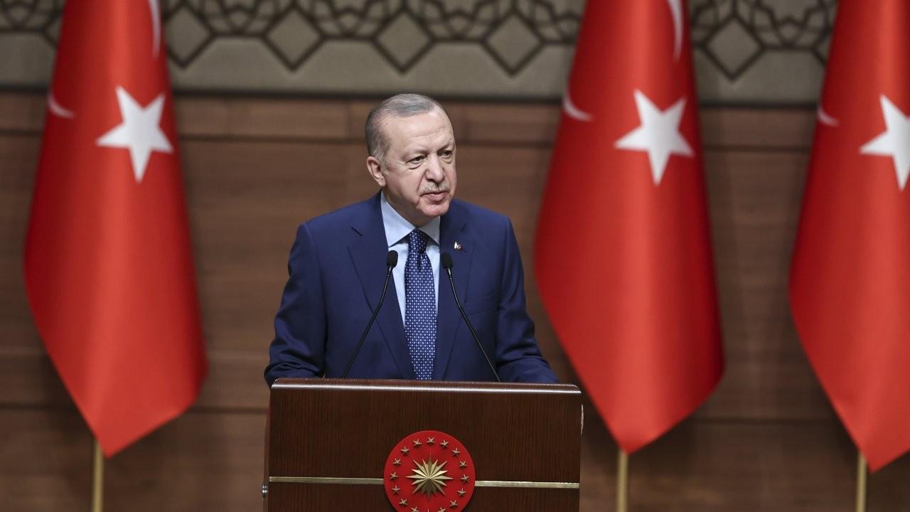 Erdoğan'dan 'Andımız' mesajı: İstiklal Marşı'dır