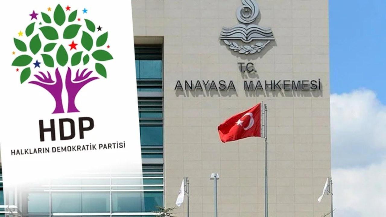 AYM, Yargıtay Başsavcılığı'nın HDP iddianamesini iade etti