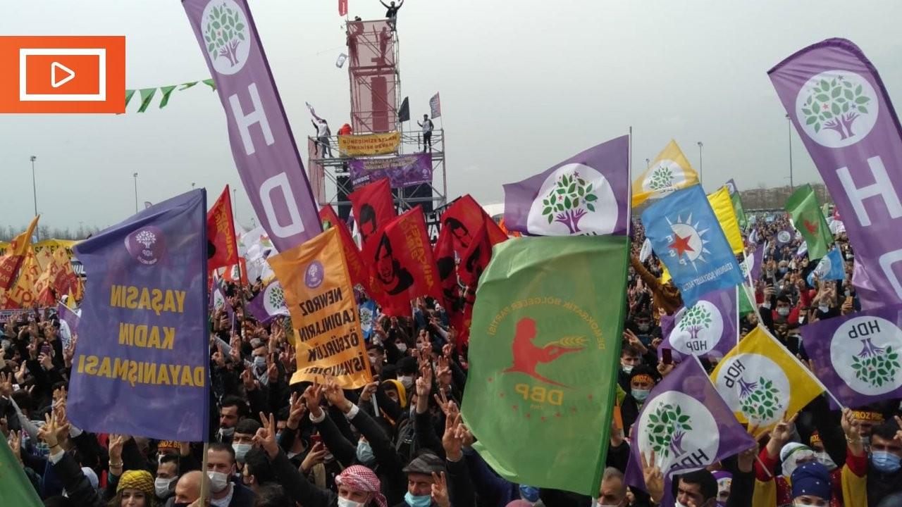 İstanbul'da Newroz: Buldan 'meydan iddianameyi iade etti' dedi