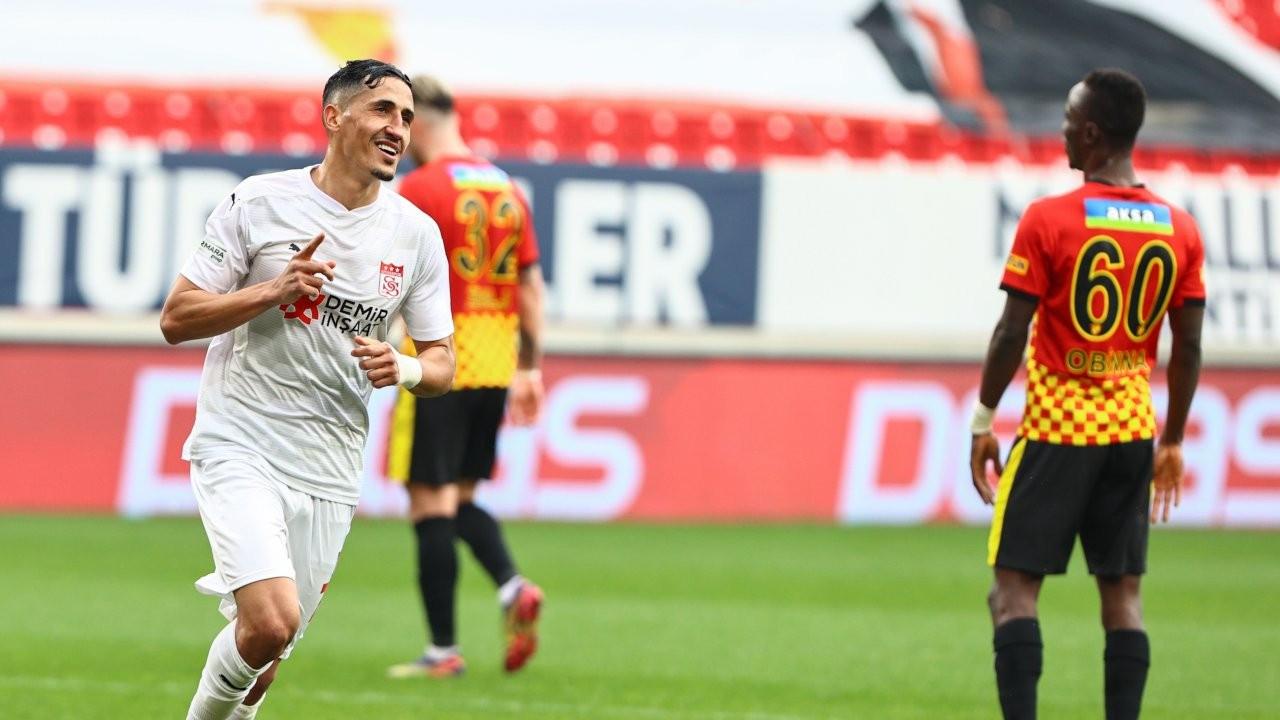 8 gollü maçı Sivasspor kazandı