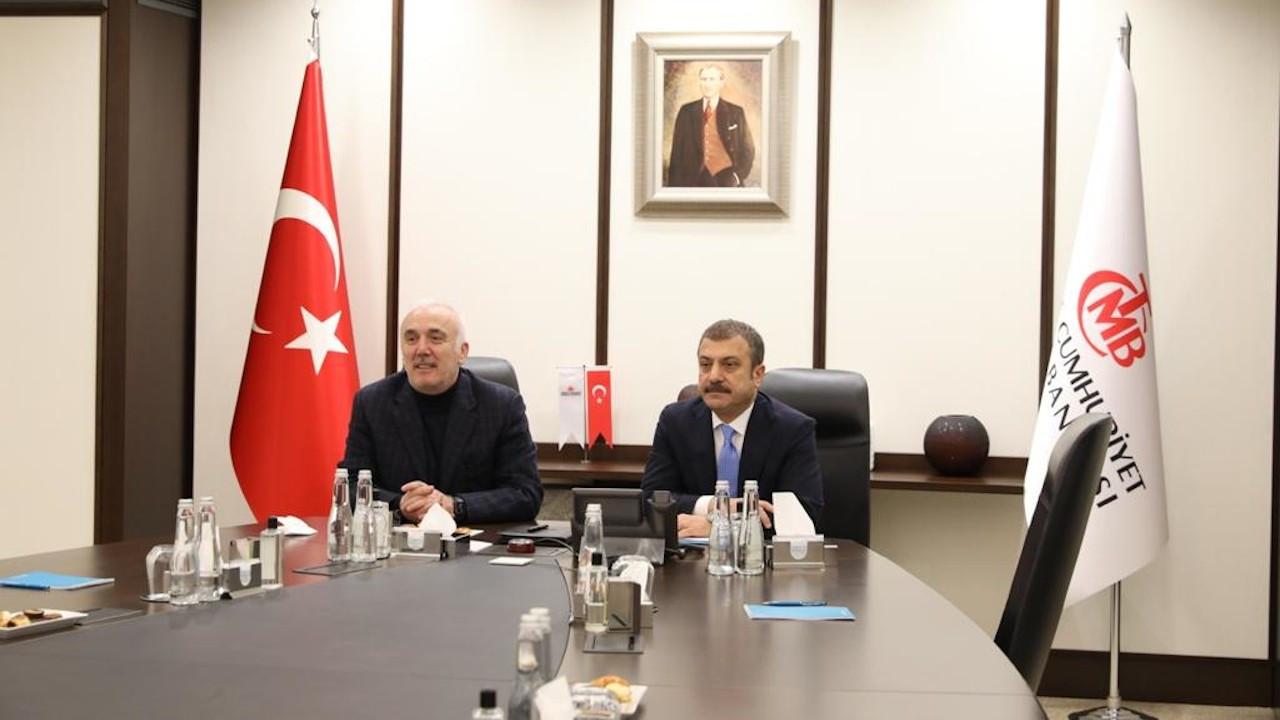 Merkez'in yeni başkanı banka müdürleriyle görüştü