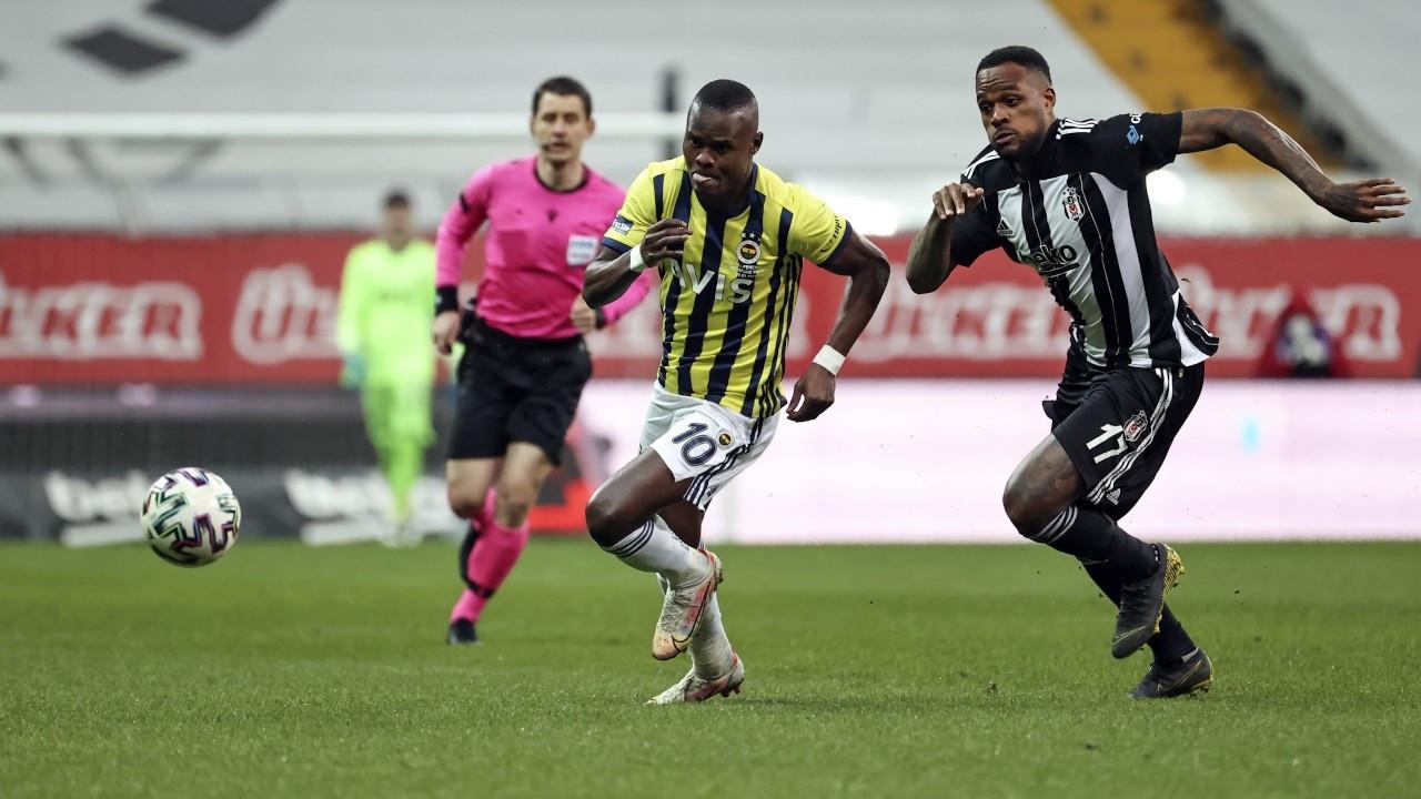 Beşiktaş-Fenerbahçe derbisi 1-1 beraberlikle bitti