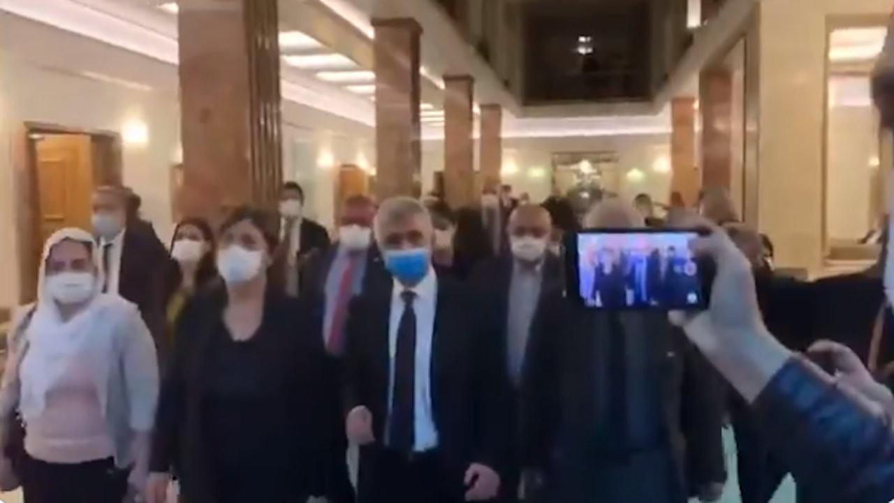 Savcının slogan iddiasına HDP'den görüntülü yanıt
