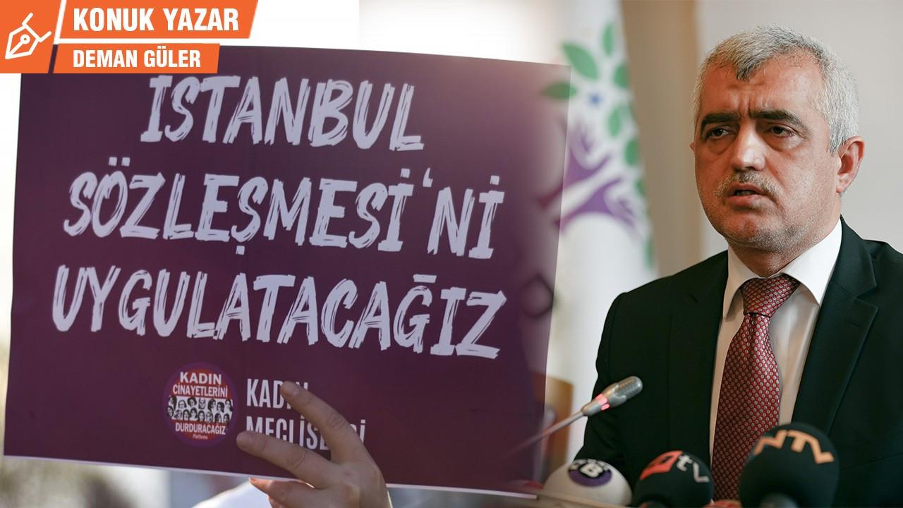 İstanbul Sözleşmesi, İHD, Gergerlioğlu, HDP ve GizemCanbulut...