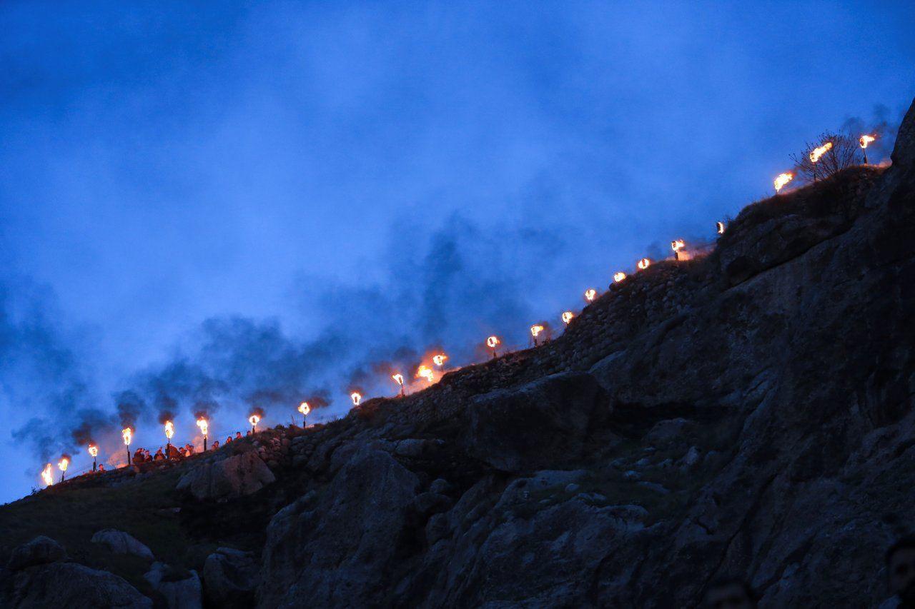 Kürdistan'da kutlamalar: Akre'de Newroz ateşini gönüllü gençler taşıdı - Sayfa 4