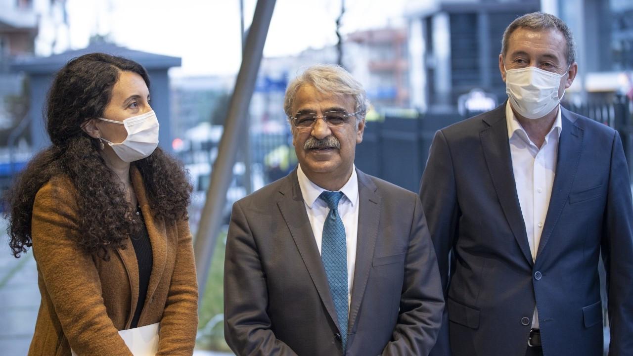 Sancar, Davutoğlu ile görüştü: Demokrasi için değerlendirmeler yaptık