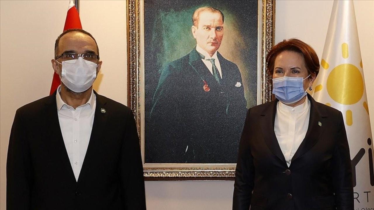 Akşener, HÜDA PAR Genel Başkanı ile görüştü