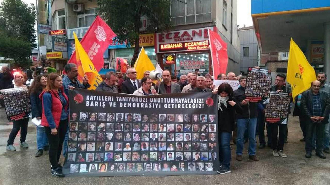 Ankara katliamı protestosuna 6.5 yıl sonra dava açıldı