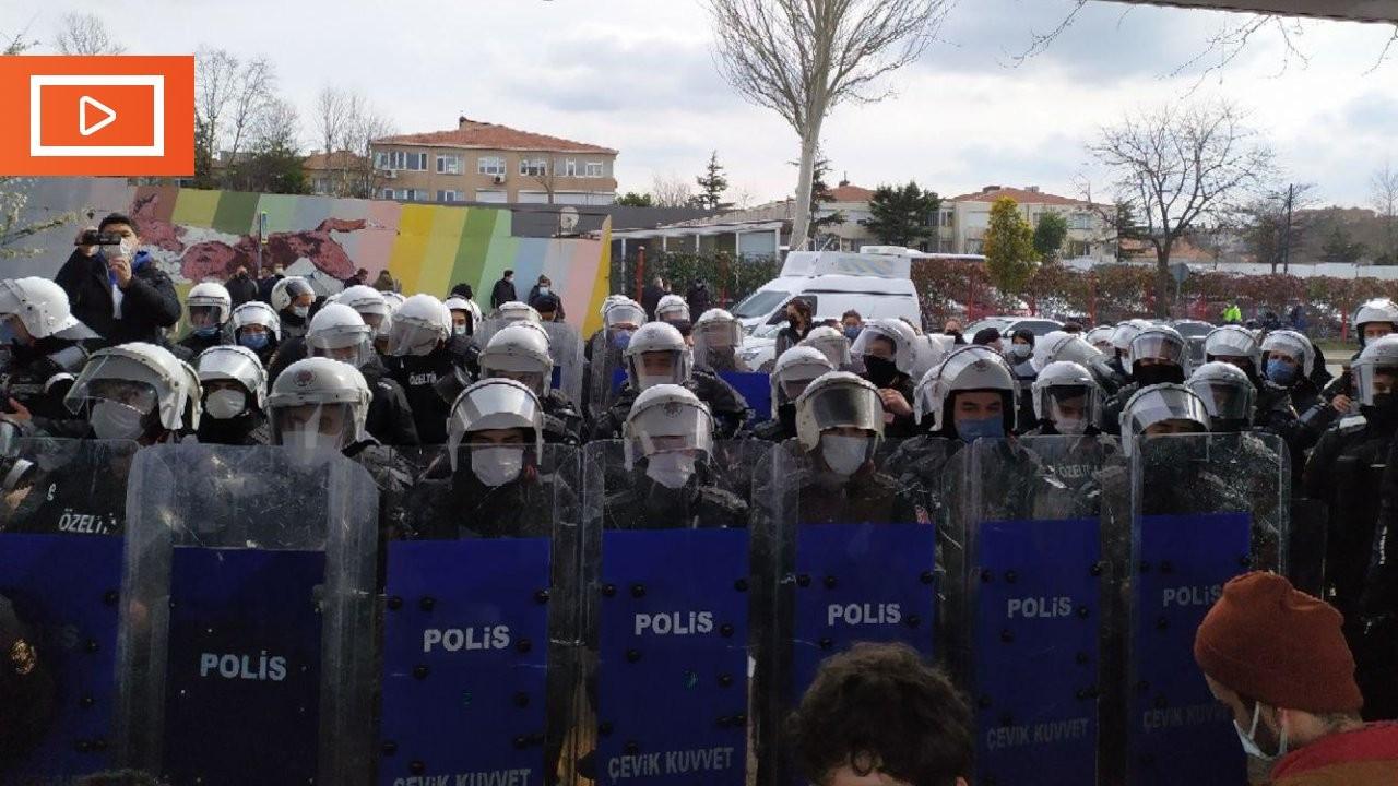 Boğaziçi Üniversitesi'nde öğrencilere darp ve gözaltı