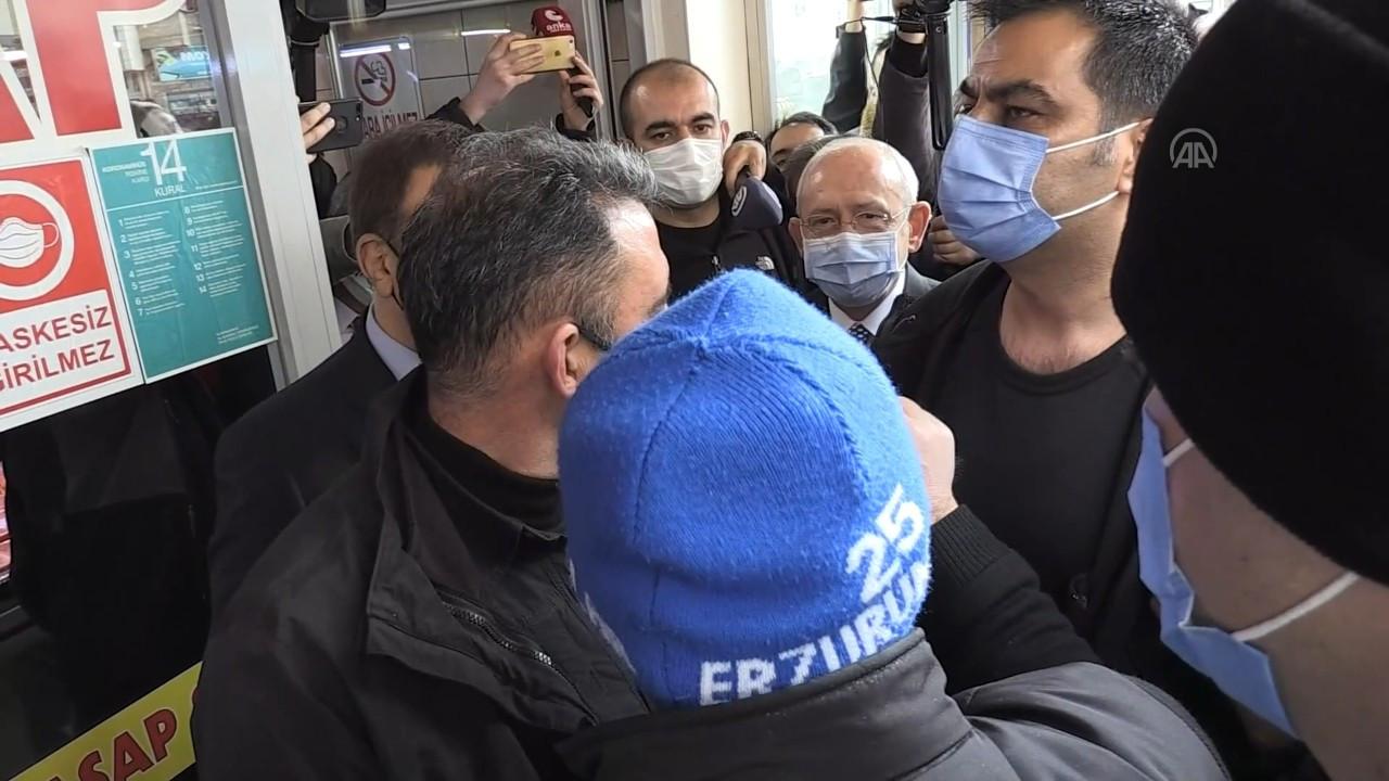 Bursa'da Kılıçdaroğlu'na sözlü saldırı: Muhtar bile olamayacaksınız