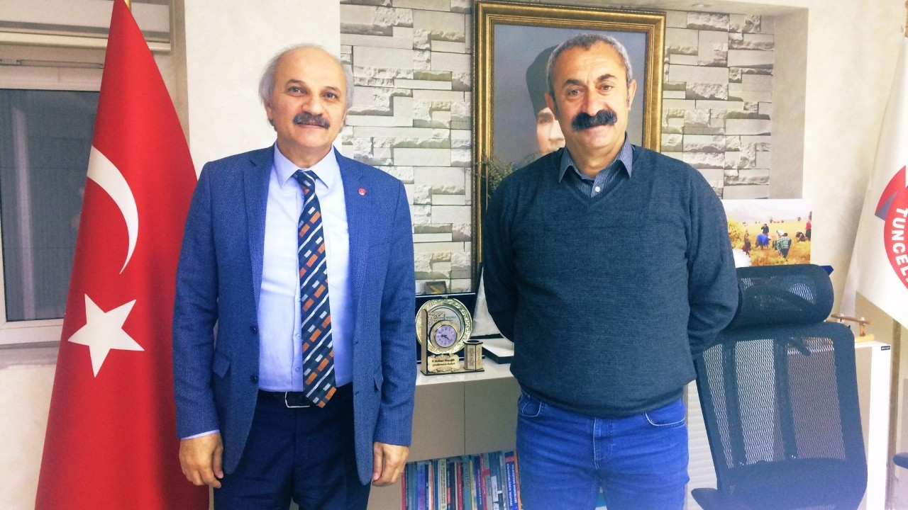 Saadet Partisi'nden, 'Komünist başkan' Maçoğlu'na ziyaret