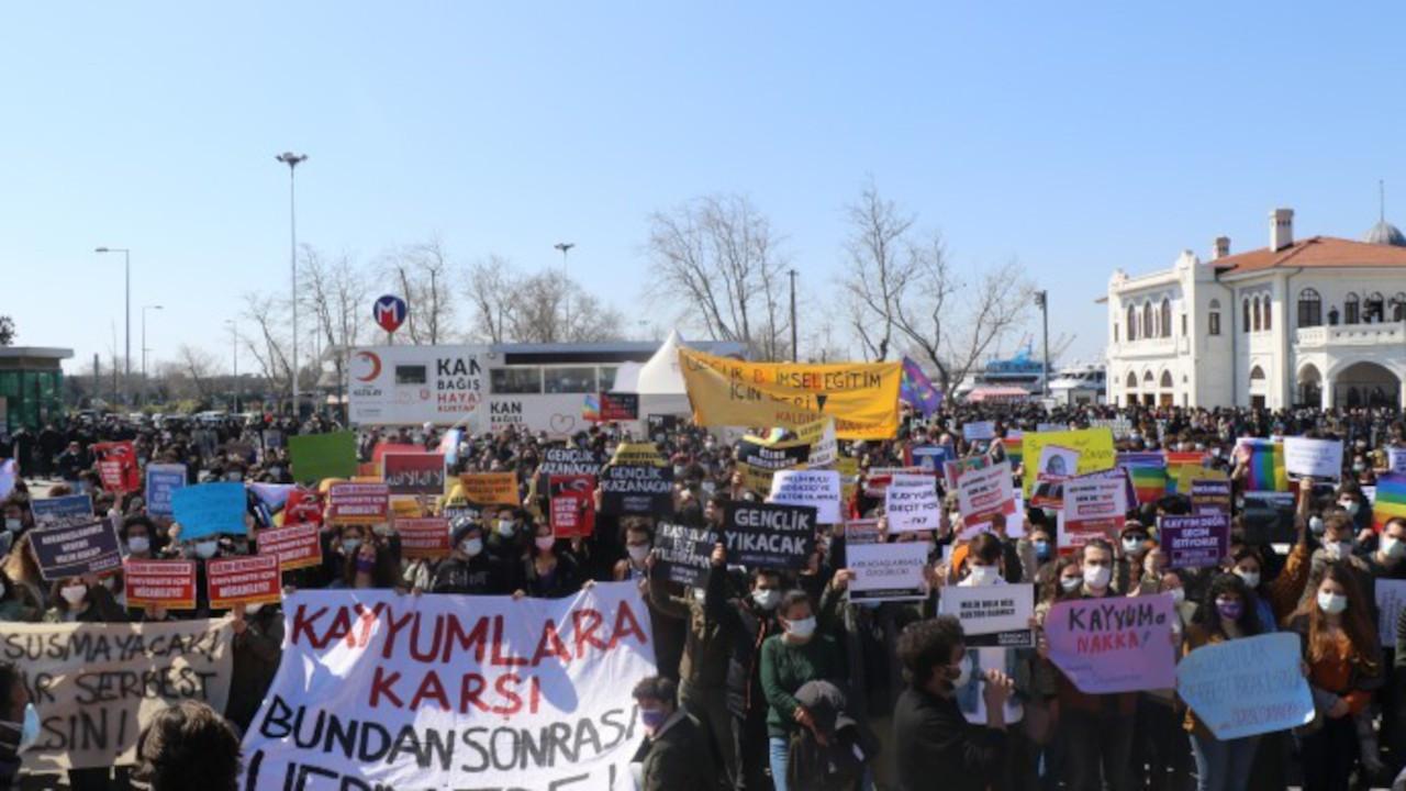 Kadıköy'de Boğaziçi eylemi: Özgürlüğü biz alacağız