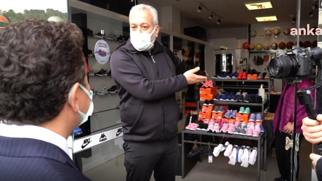 Babacan'dan Mersin'de esnaf ziyareti: 'Vergiyle belimiz büküldü'