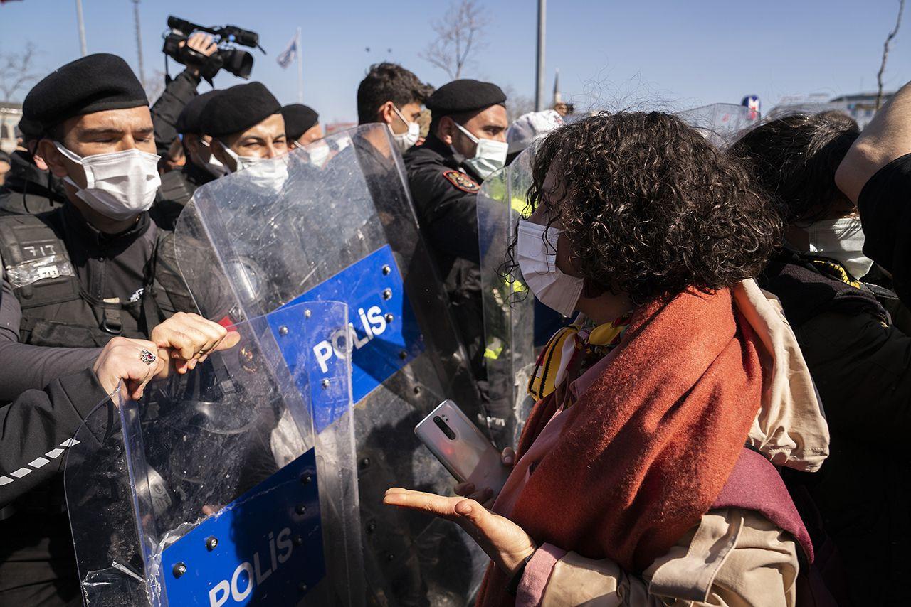 Kadıköy'de İstanbul Sözleşmesi protestosu: Eşitlikten, özgürlükten vazgeçmeyeceğiz - Sayfa 4