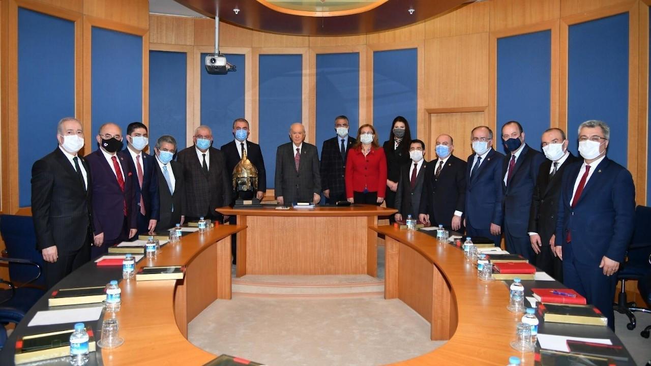 MHP Başkanlık Divanı, yeni üyeleriyle ilk toplantısını yaptı