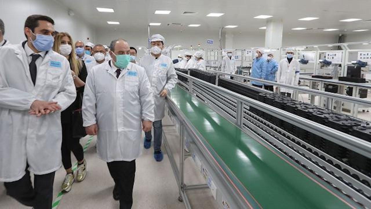 Xiaomi'nin Türkiye fabrikasına resmi açılış
