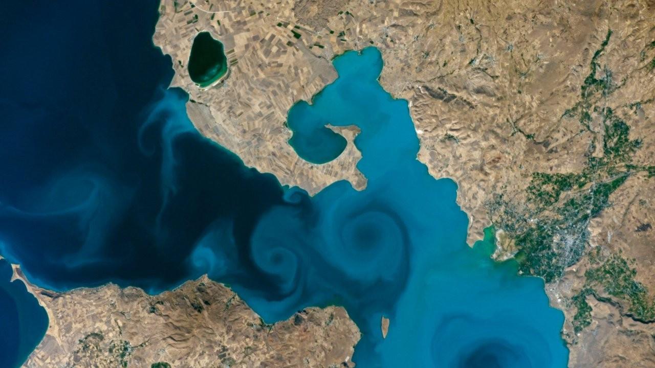 Van Gölü fotoğrafı NASA yarışmasında yarı finale kaldı
