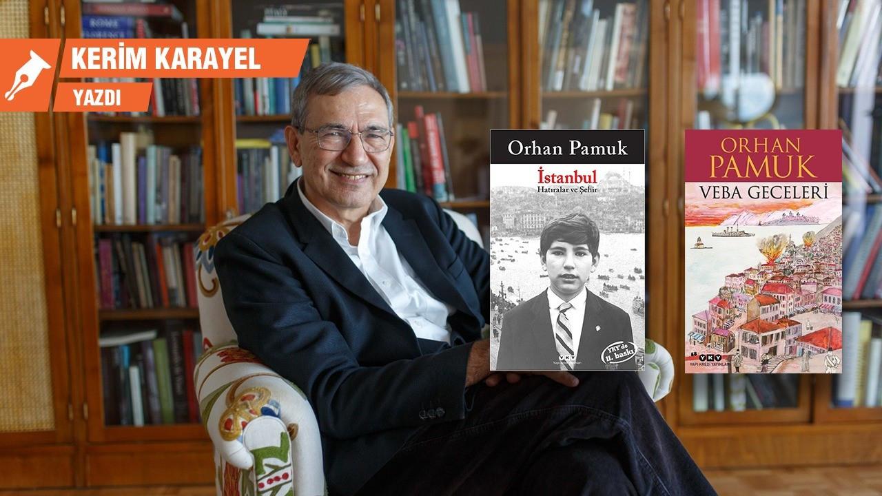 Orhan Pamuk, imaj ve yazı