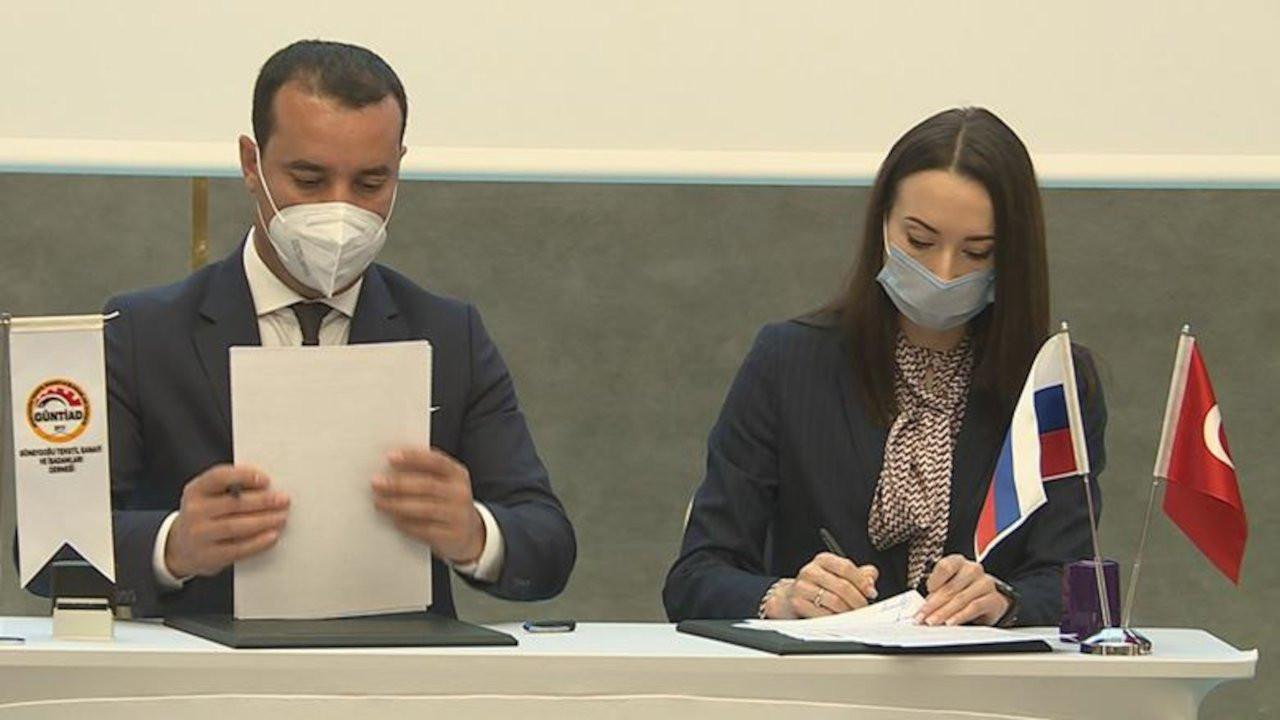 Diyarbakırlı iş insanları Rusya ile anlaşma imzaladı
