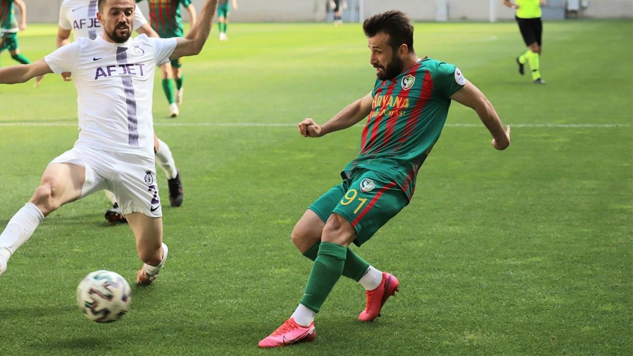 Amedspor'la Afyonspor puanları paylaştı
