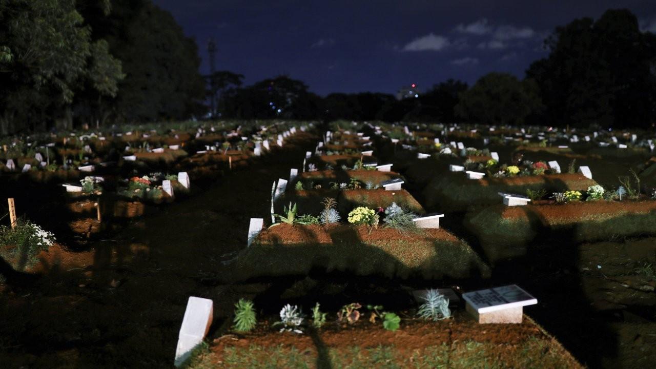 Brezilya'da mart ayında ölenlerin sayısı 66 bini geçti