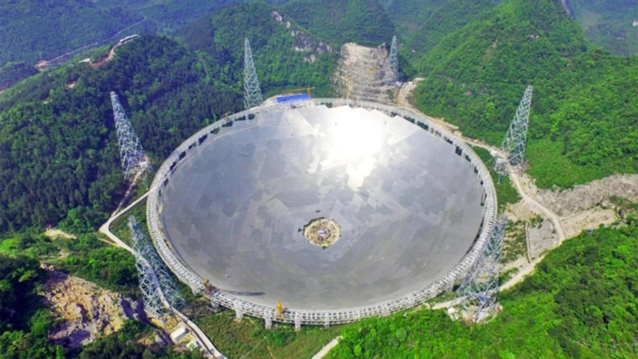 500 metre çaplı teleskop kullanıma açıldı