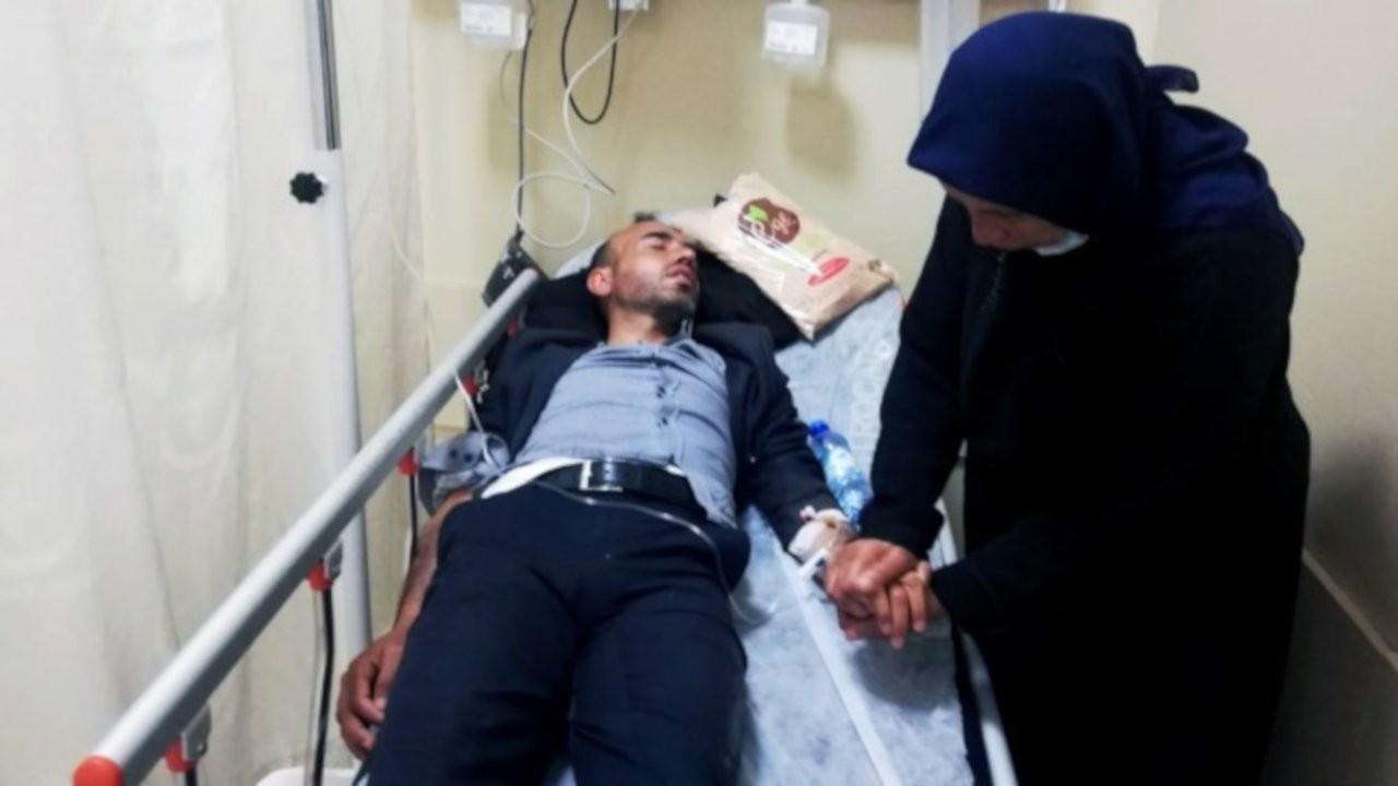 Polisin darp ettiği Ferit Şenyaşar hastaneye kaldırıldı