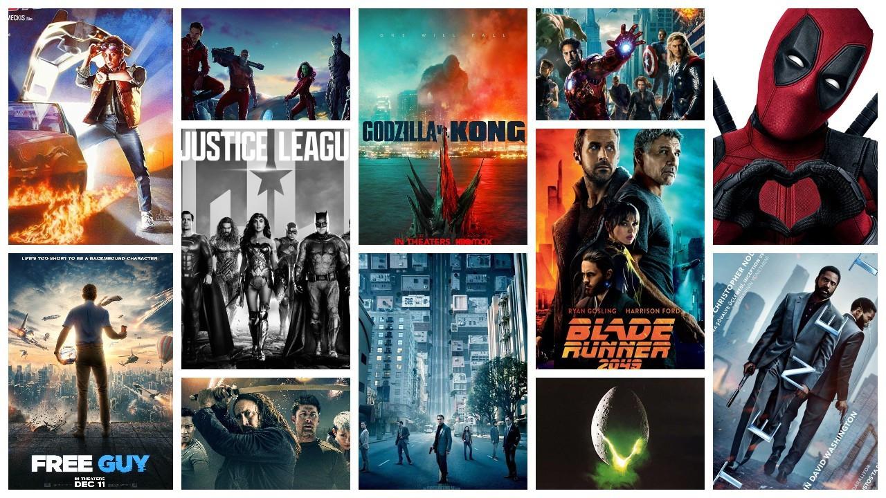 IMDb'ye göre en popüler 50 bilim kurgu filmi