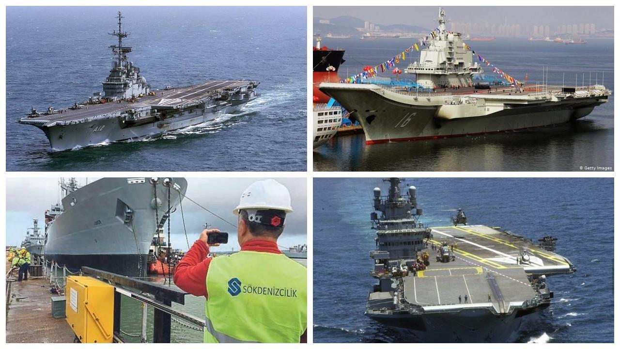 600 ton asbest barındıran uçak gemisi Aliağa'da sökülecek