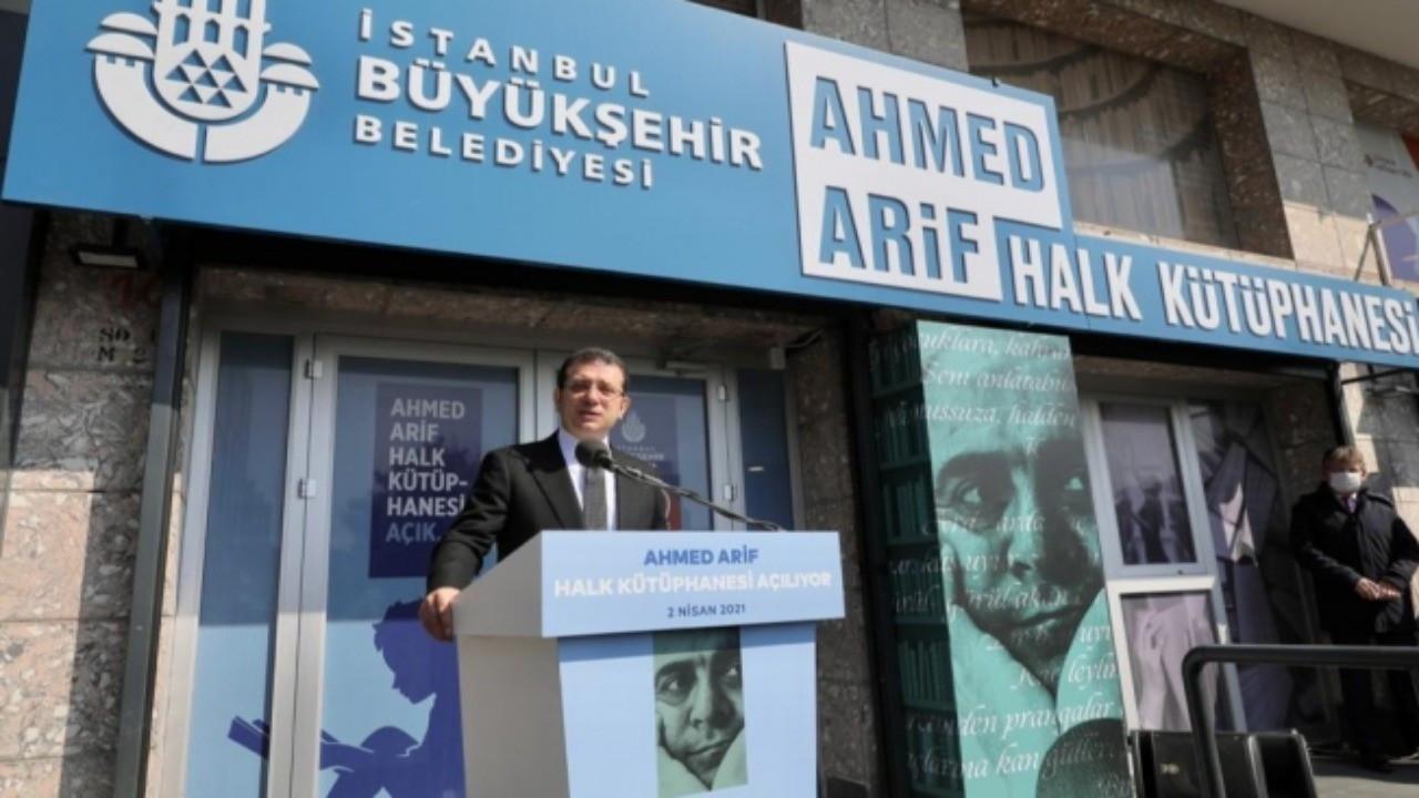 Ekrem İmamoğlu'ndan Ahmed Arif şiiriyle dayanışma mesajı