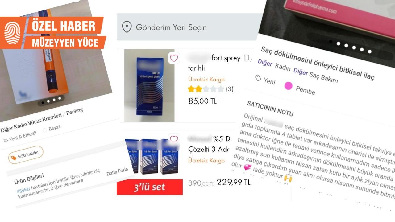 Online ikinci el ilaç satışı: Sahibinden az kullanılmış!