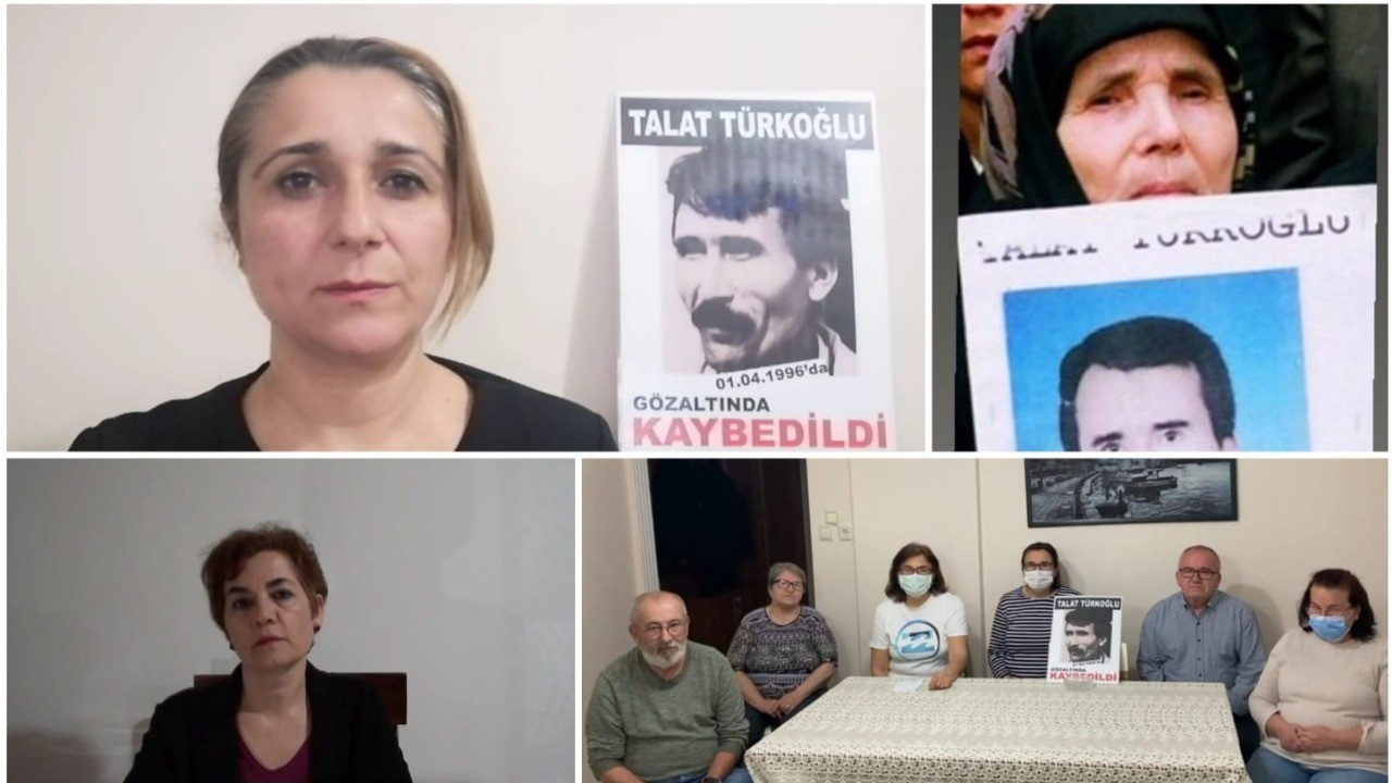Cumartesi Anneleri: Talat Türkoğlu için adalet istiyoruz