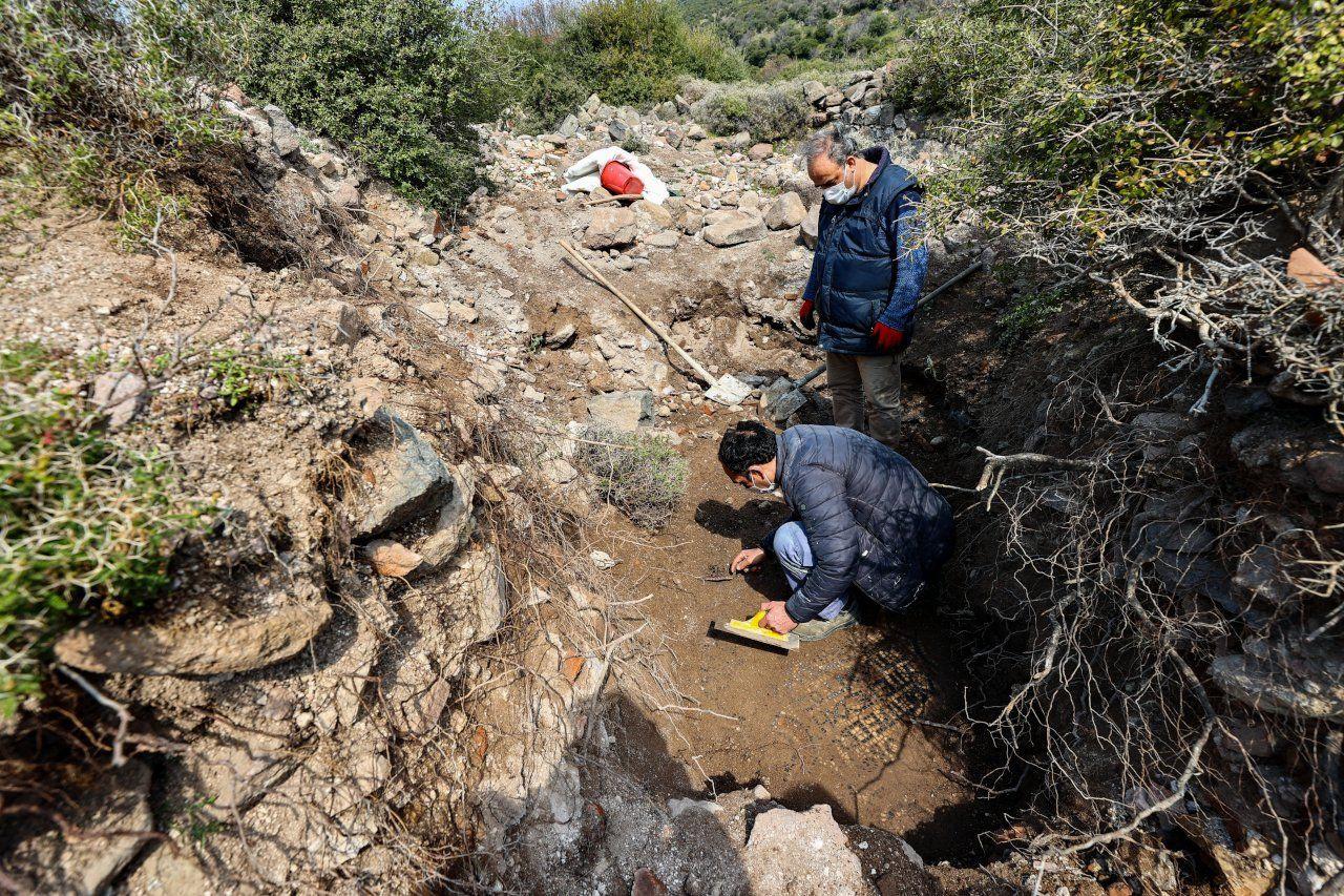 İzmir'deki kaçak kazıdan eşine az rastlanır mozaik çıktı - Sayfa 2
