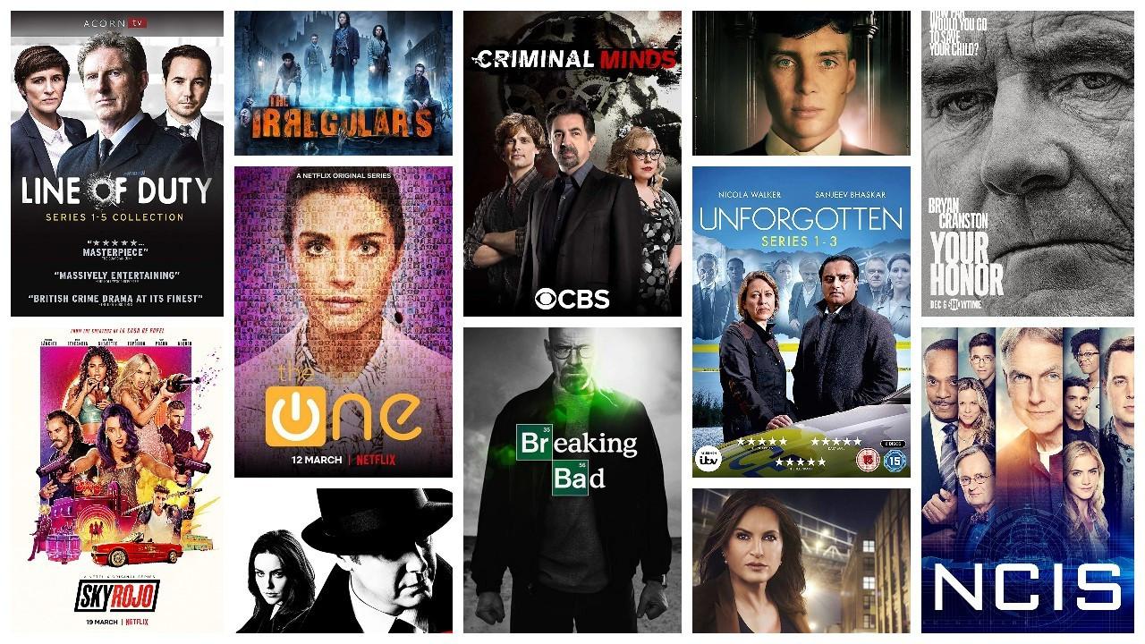 IMDb'ye göre en popüler 50 suç dizisi
