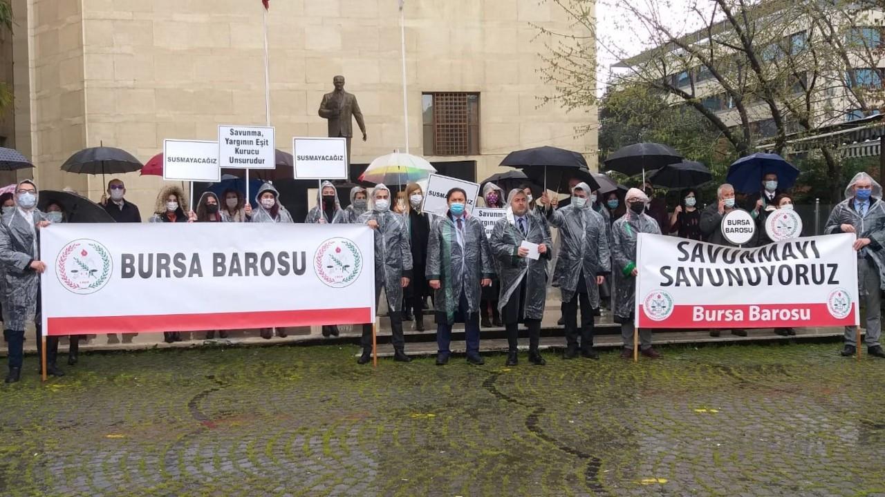Bursa Barosu: Avukatlar Günü'nü kutlamıyoruz