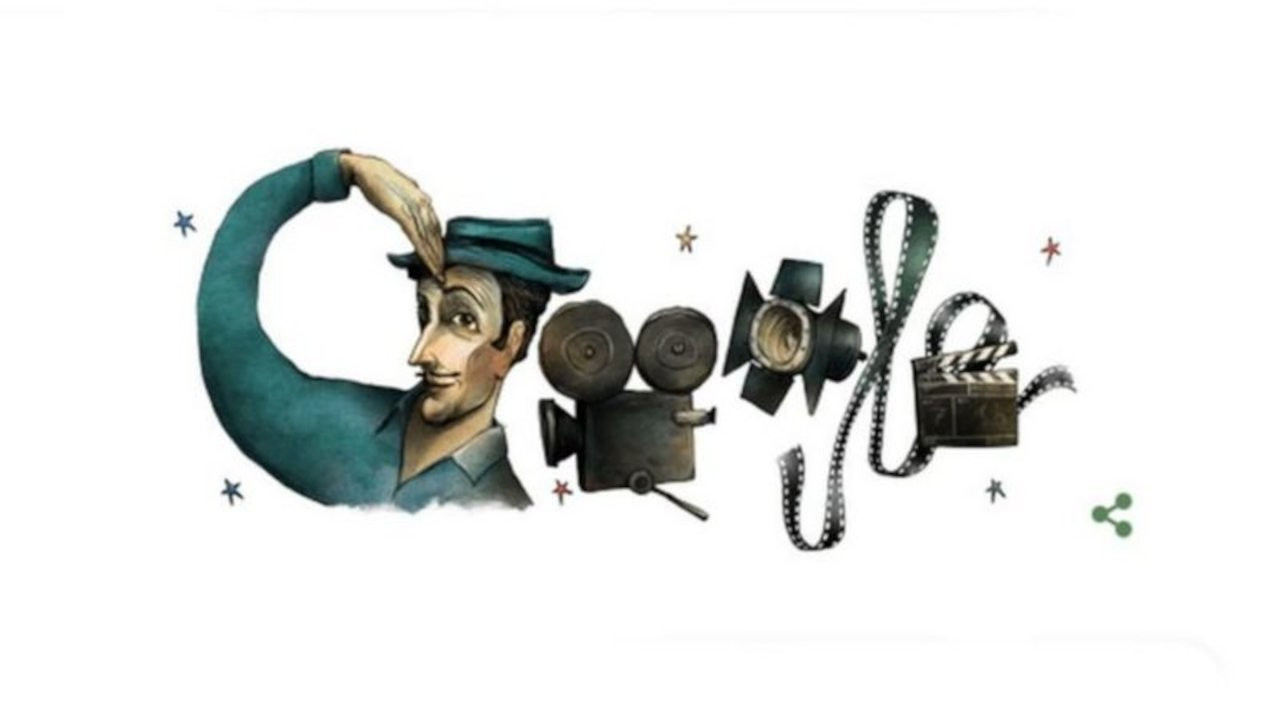 Google Sadri Alışık'ı unutmadı: 'Turist Ömer' doodle oldu