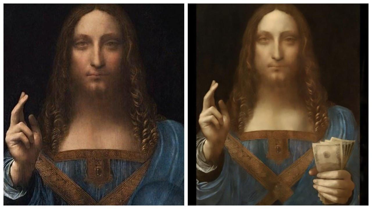 Dünyanın en pahalı tablosu NFT olarak satışa çıkarıldı