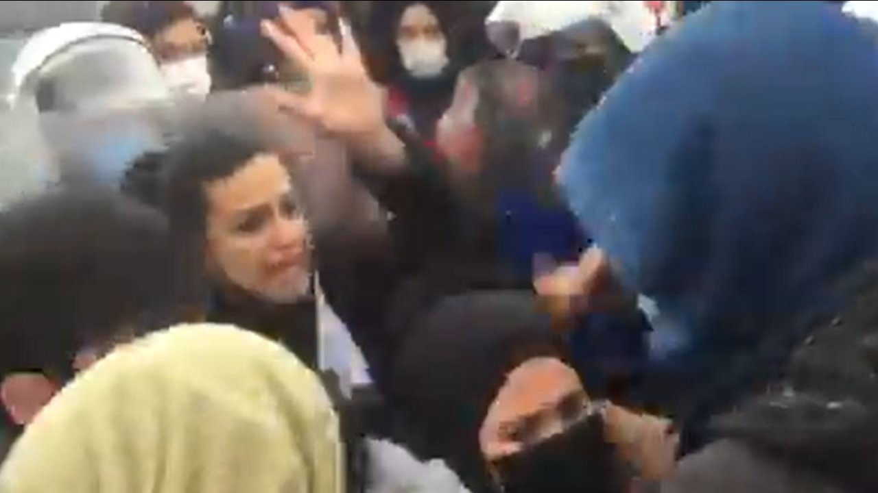 Migros işçileri patron Tuncay Özilhan'ın evinin önünde gözaltına alındı