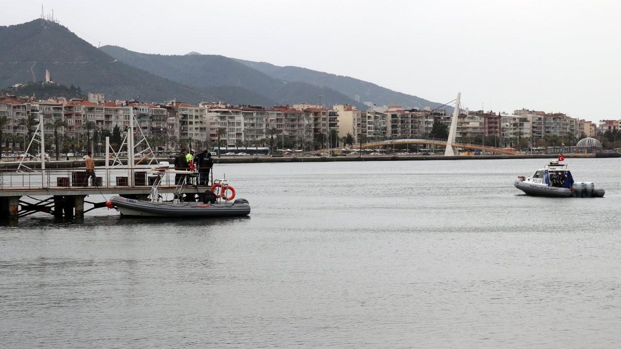 İzmir'de balıkçı oltasına ceset takıldı