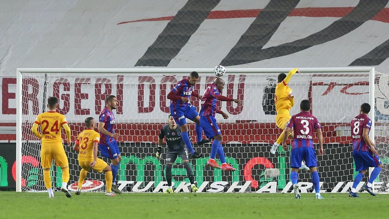 Trabzon'da kazanan çıkmadı: 1-1