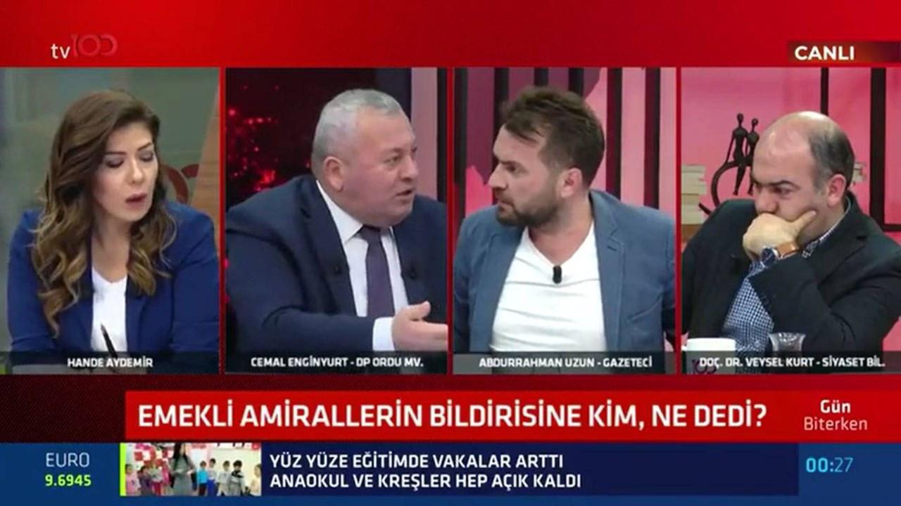Canlı yayında gerilim: Sen gazeteci misin?.. Ben AK Partiliyim