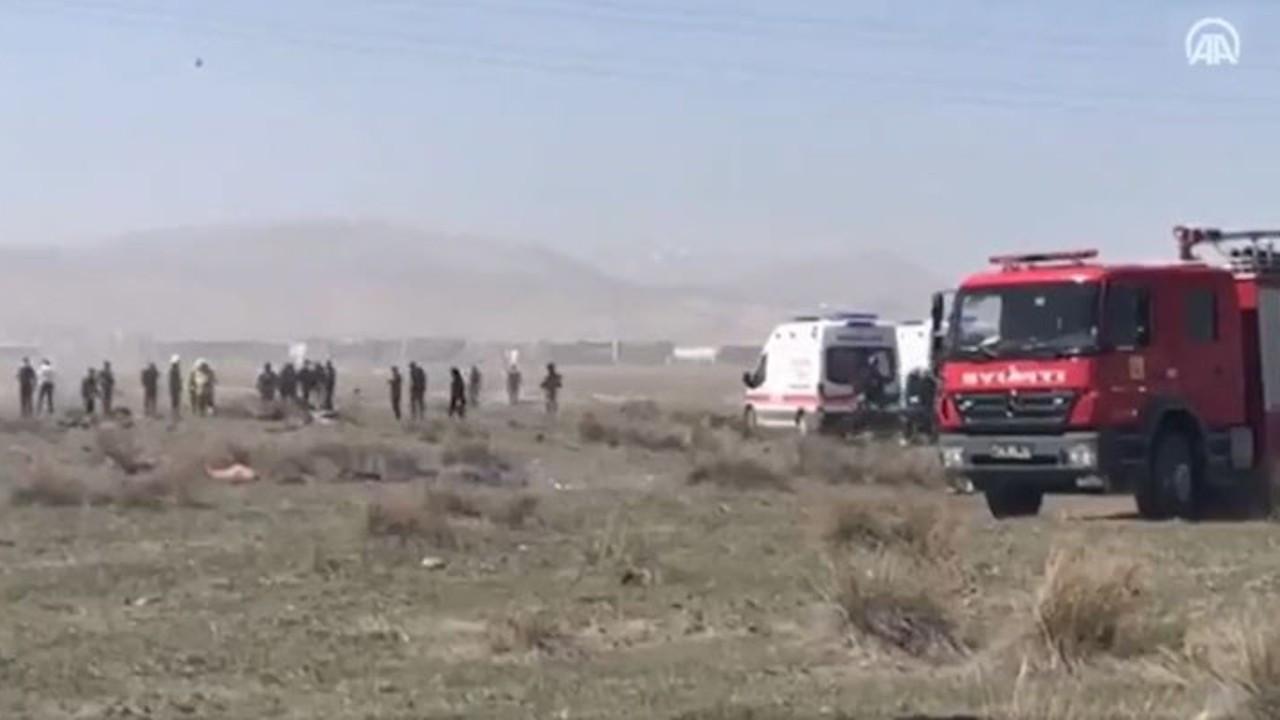 Konya'da eğitim uçağı düştü... MSB: Pilot şehit oldu
