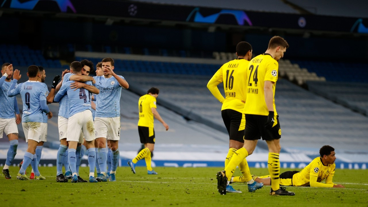 Manchester City, 90'ıncı dakikada kazandı