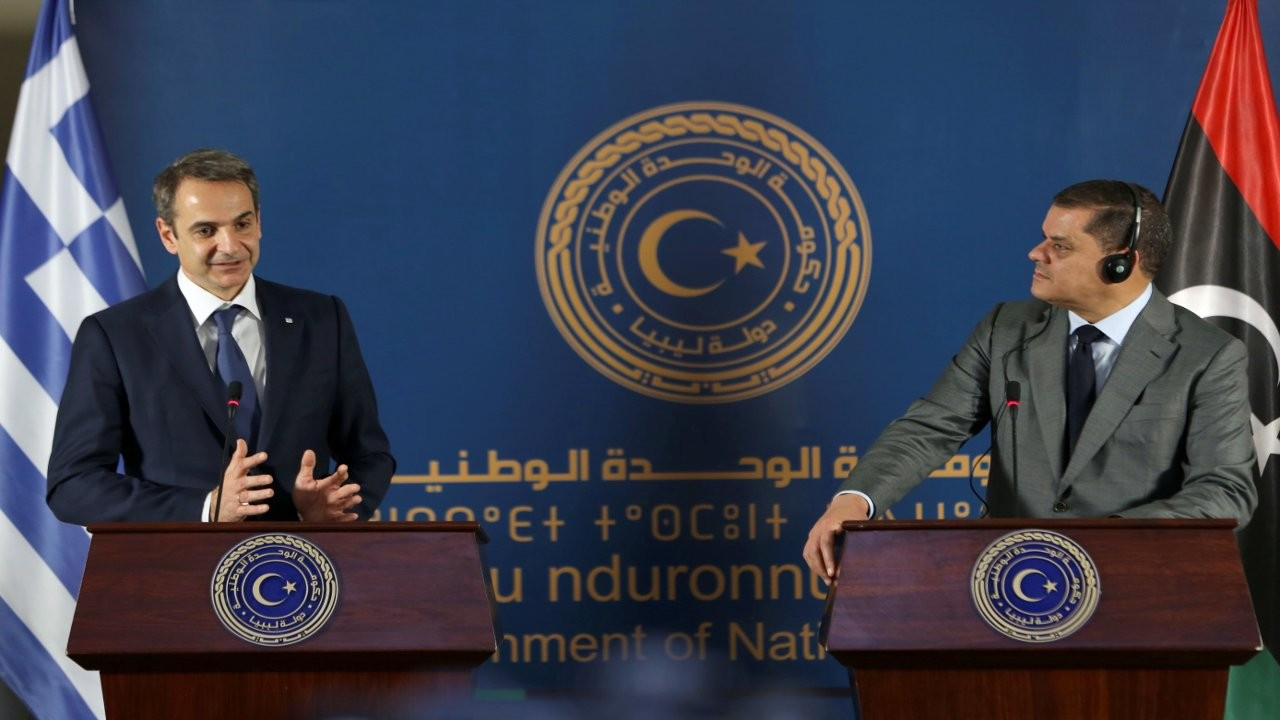 Miçotakis Libya'da konuştu: Türkiye'yle anlaşmayı iptal edin