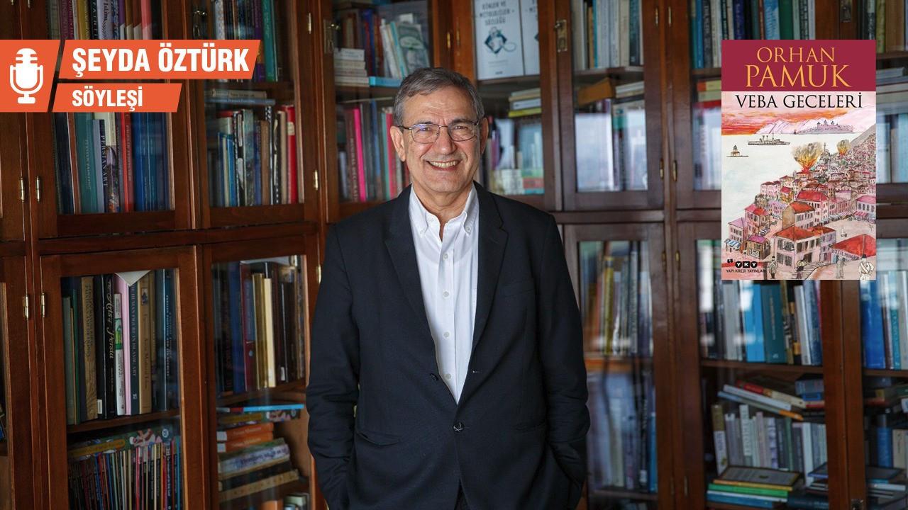 Orhan Pamuk, yeni romanı Veba Geceleri'ni anlattı